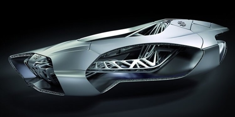 what 3d printed cars of the future might look like credit flickr designmilk