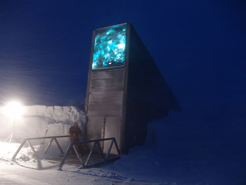 Doomsday vault - Global seed vault