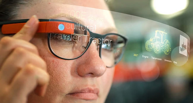 wearable electronic glasses